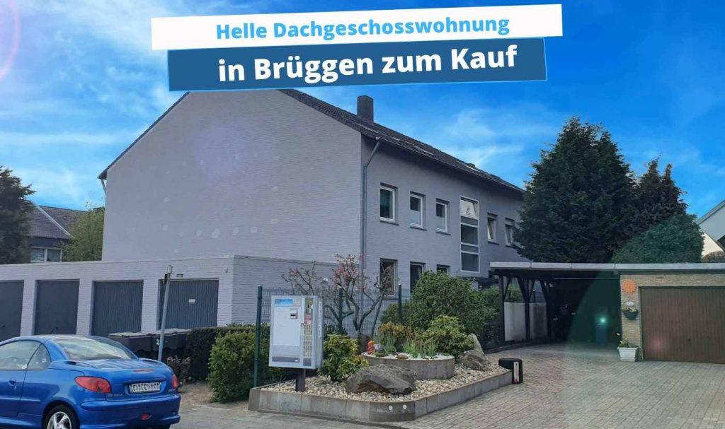 Schöne Dachgeschosswohnung in Brüggen kaufen