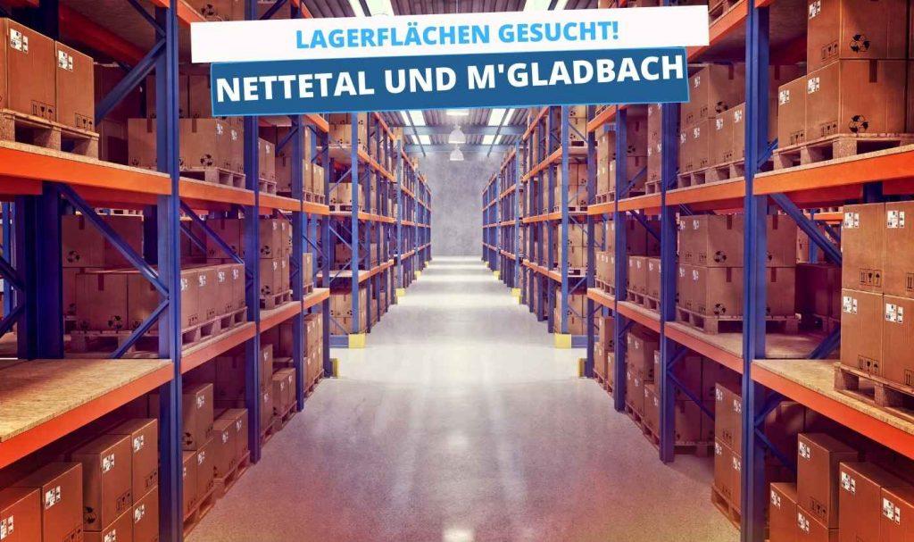 Wir suchen Lagerflächen in Nettetal und Mönchengladbach